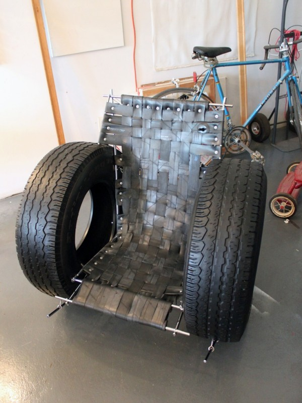 Upcycled Wheel Chair
