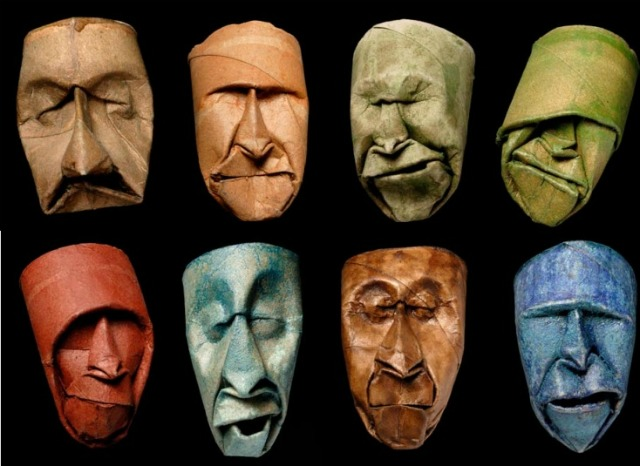 Paper Boss Faces