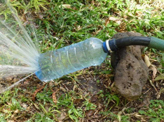 Upcycle Plastic to Water Your Garden